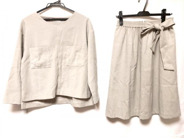 ガリャルダガランテ スカートセットアップ サイズF レディース美品  グレー