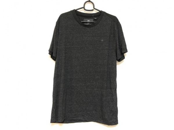 G-STAR RAW(ジースターロゥ) 半袖Tシャツ サイズL メンズ ダークグレー