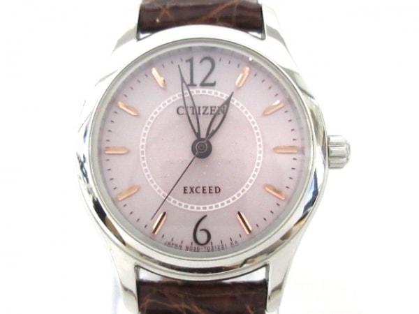 CITIZEN(シチズン) 腕時計美品  エクシード B036-T020275 レディース DURATECT ピンク