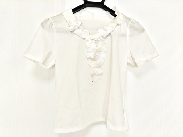 Austin Reed(オースチンリード) 半袖Tシャツ サイズ38 L レディース - - アイボリー
