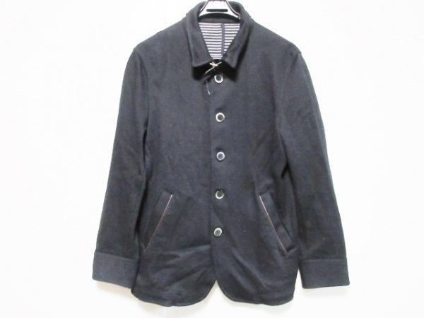JUN MEN(ジュンメン) コート サイズM メンズ 黒 春・秋物