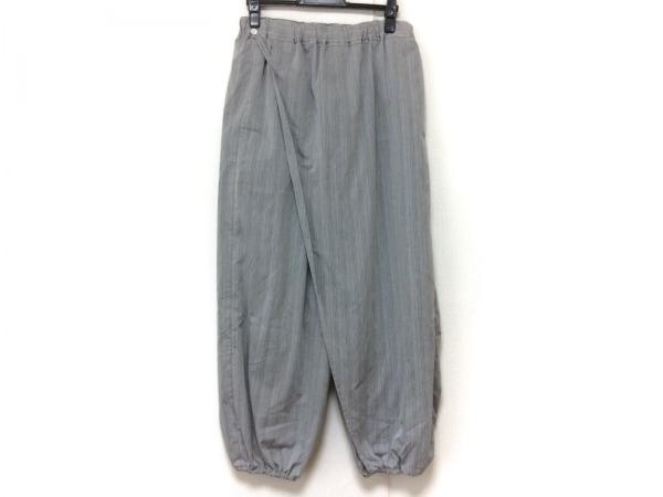 SOU・SOU(ソウソウ) パンツ サイズM レディース グレー ストライプ