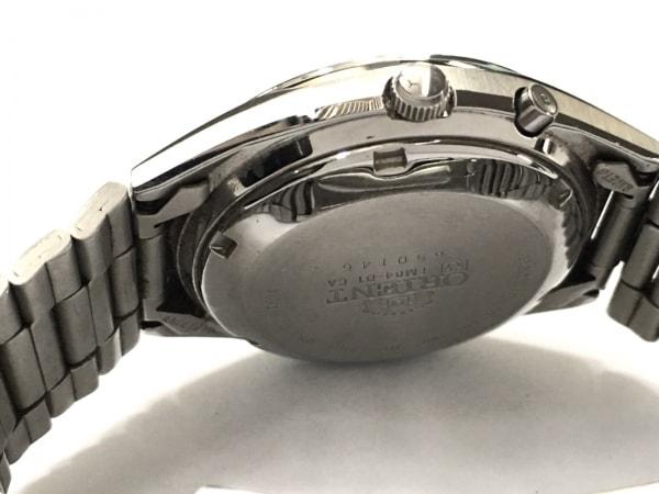 ORIENT(オリエント) 腕時計 スリースター EM04-D1 メンズ ダークグリーン