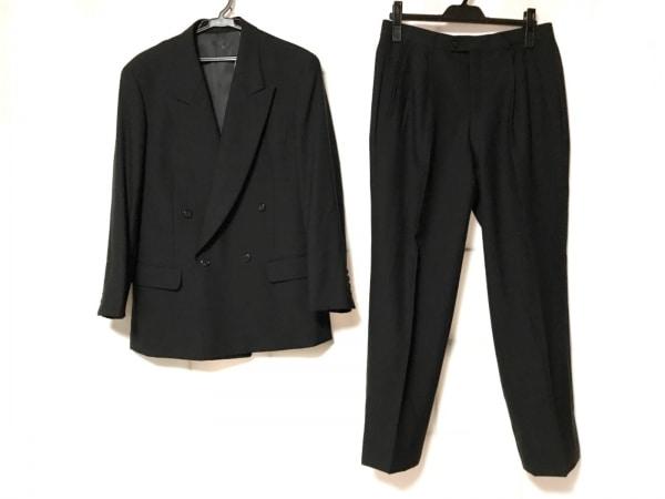 LANVIN(ランバン) シングルスーツ サイズ46 L メンズ 黒