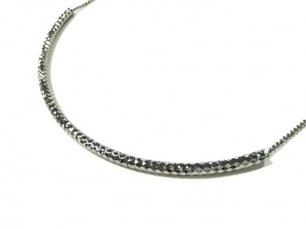 AGATHA(アガタ) ネックレス美品  金属素材 シルバー