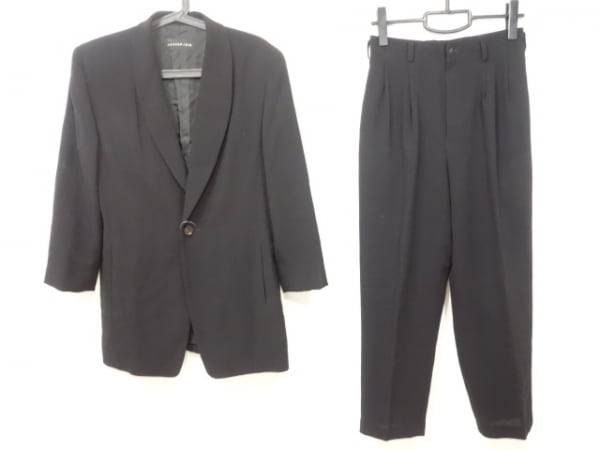 JURGEN LEHL(ヨーガンレール) シングルスーツ サイズM メンズ 黒