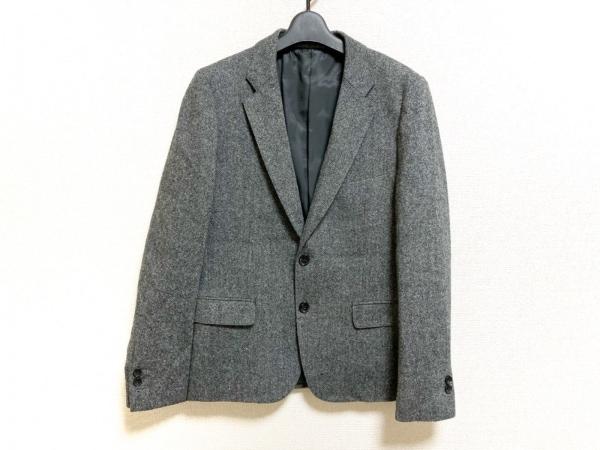ジャーナルスタンダード ジャケット サイズM メンズ美品  黒×グレー