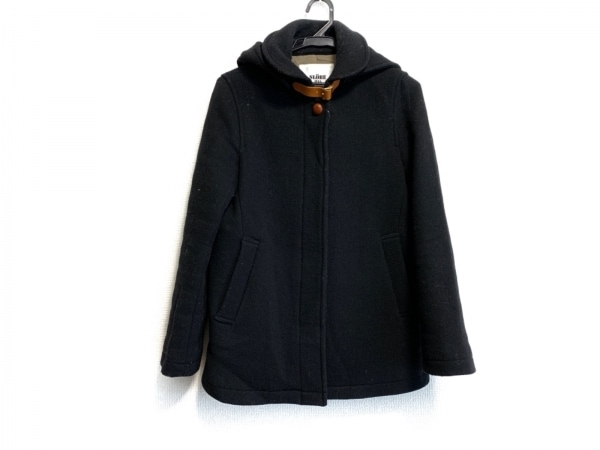 IENA SLOBE(イエナ スローブ) コート サイズ36 S レディース 黒 ショート丈/冬物