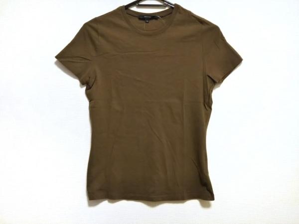 GUCCI(グッチ) 半袖Tシャツ サイズXS レディース美品  カーキ