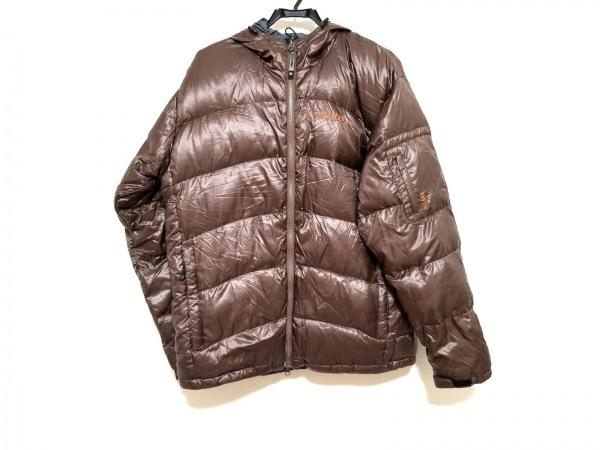 Marmot(マーモット) ダウンジャケット サイズL メンズ ブラウン 冬物