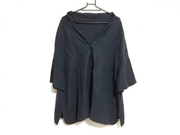 ebure(エブール) 半袖シャツブラウス サイズ38 M レディース美品  黒
