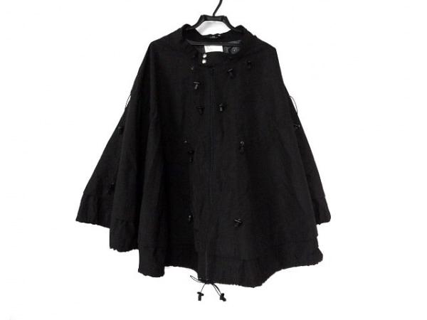 コムデギャルソンジュンヤワタナベ ポンチョ サイズS レディース美品  黒