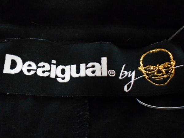 Desigual(デシグアル) ワンピース サイズL レディース 黒×マルチ