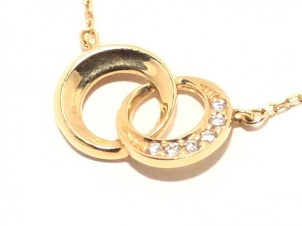 スタージュエリー ネックレス K18YG×ダイヤモンド 6Pダイヤ/0.02カラット