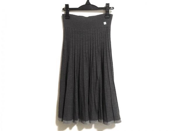 SONIARYKIEL(ソニアリキエル) スカート サイズ38 M レディース グレー×ライトグレー