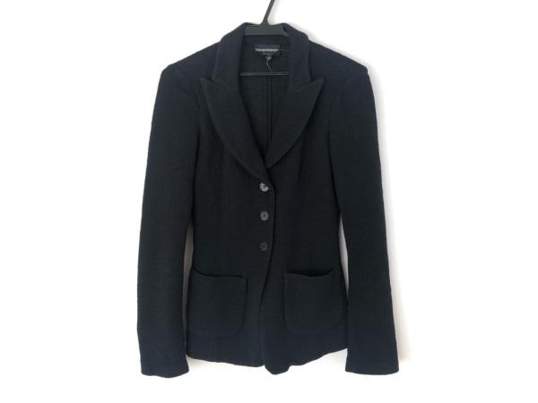 EMPORIOARMANI(エンポリオアルマーニ) ジャケット サイズ38 S レディース美品  黒
