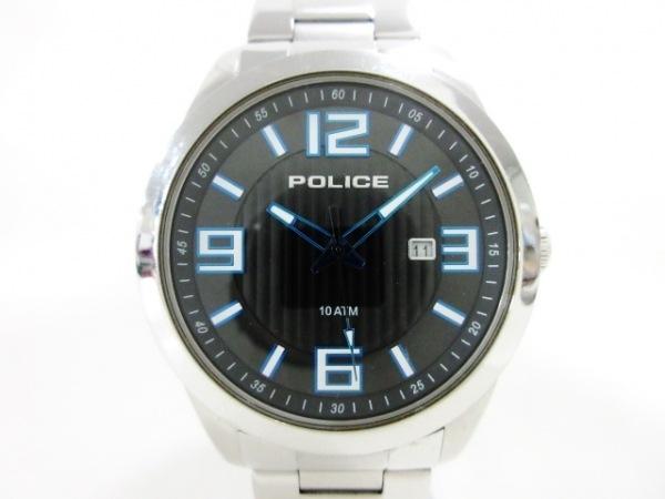 POLICE(ポリス) 腕時計 13406J メンズ 黒
