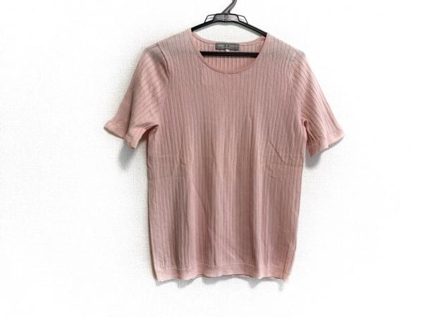 AMACA(アマカ) 半袖カットソー サイズ40 M レディース美品  ピンク