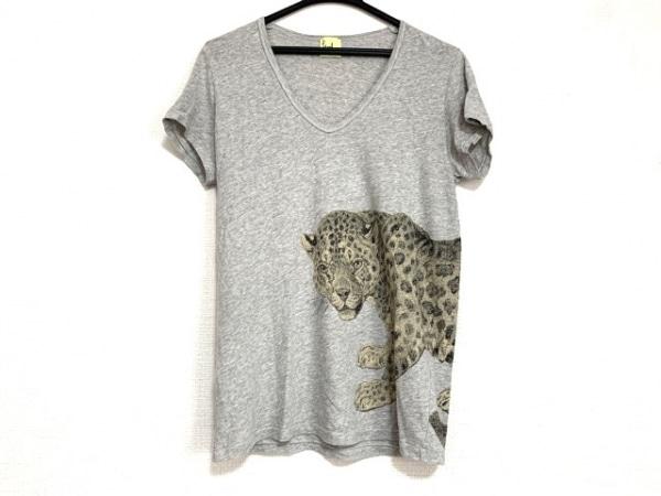 Paul+ PaulSmith(ポールスミスプラス) 半袖Tシャツ サイズM レディース美品  豹