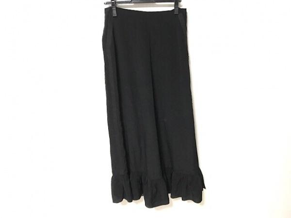 EMPORIOARMANI(エンポリオアルマーニ) ロングスカート サイズ42 M レディース 黒