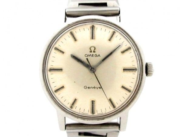 OMEGA(オメガ) 腕時計 - メンズ アイボリー