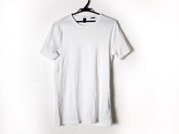 G-STAR RAW(ジースターロゥ) 半袖Tシャツ サイズL メンズ美品  白