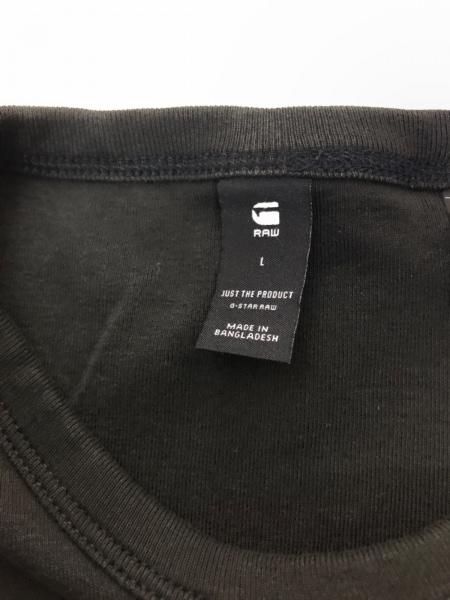 G-STAR RAW(ジースターロゥ) 半袖Tシャツ サイズL メンズ美品  黒