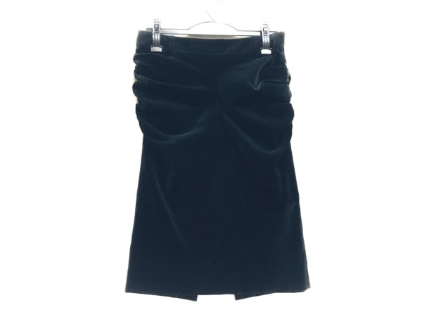 CITRUS NOTES(シトラスノーツ) スカート サイズ38 M レディース美品  黒 ベロア
