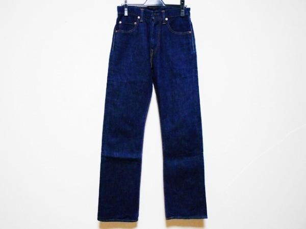 モモタロウジーンズ ジーンズ サイズ27 M レディース ダークネイビー JAPAN BLUE