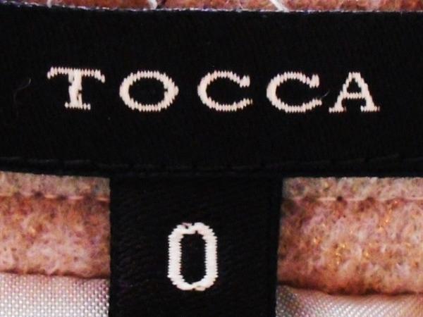 TOCCA(トッカ) スカート サイズ0 XS レディース ライトブラウン ラメ