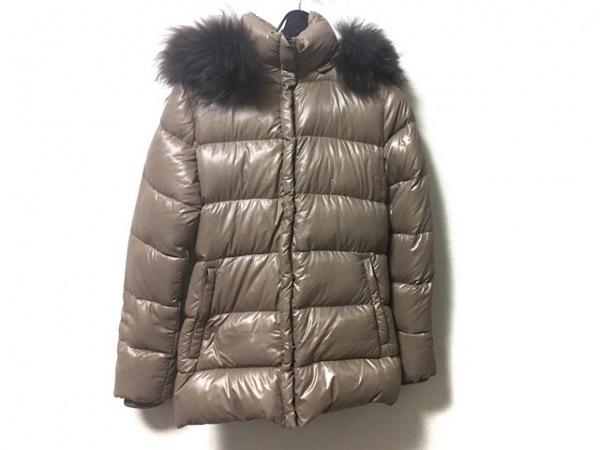 デュベティカ ダウンジャケット サイズ38 S レディース SABIK ライトブラウン 冬物