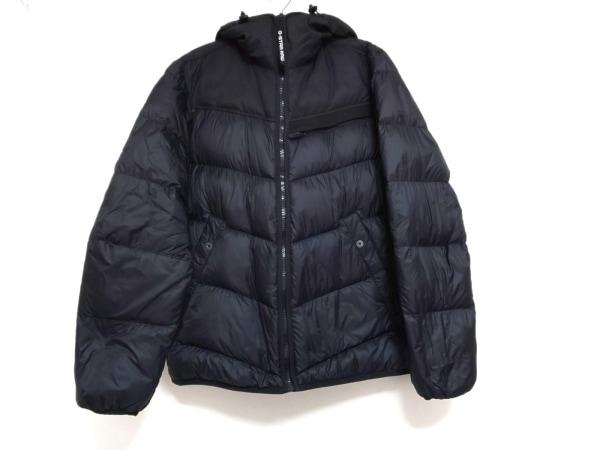 G-STAR RAW(ジースターロゥ) ダウンジャケット サイズL メンズ 黒 冬物