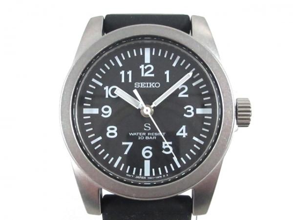 SEIKO(セイコー) 腕時計美品  7N01-0KL0 メンズ 黒