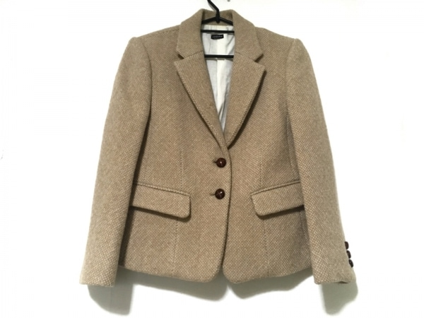 JOSEPH(ジョセフ) ジャケット サイズ38 L レディース ベージュ ウール