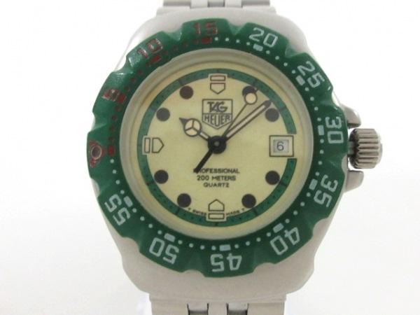 タグホイヤー 腕時計 プロフェッショナル200 372.508 レディース アイボリー