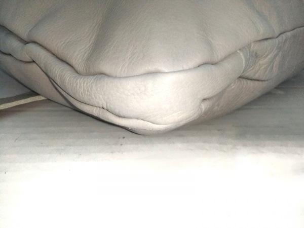1metre carre(アンメートルキャレ) トートバッグ ライトグレー 2way レザー
