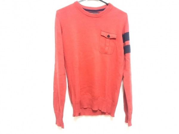 G-STAR RAW(ジースターロゥ) 長袖セーター サイズS メンズ レッド