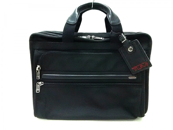 TUMI(トゥミ) ビジネスバッグ 26130D4 黒 TUMIナイロン×レザー