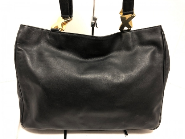 PalomaPicasso(パロマピカソ) トートバッグ 黒 レザー