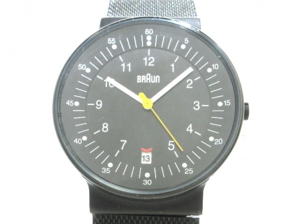 BRAUN(ブラウン) 腕時計 - BNH0082BKBKMHG メンズ 黒