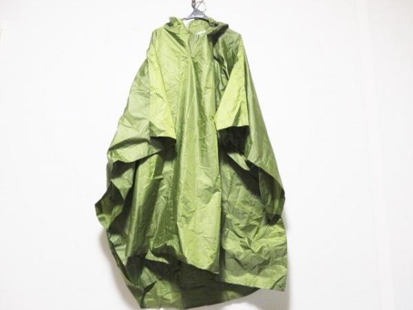 MERRELL(メレル) ポンチョ サイズS レディース美品  ライトグリーン レインコート