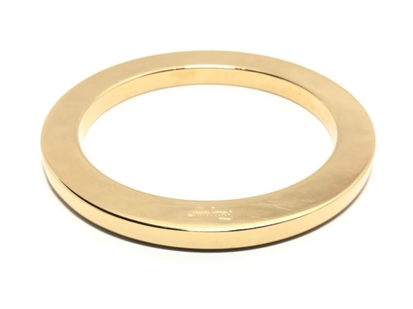 SalvatoreFerragamo(サルバトーレフェラガモ) バングル - 金属素材 ゴールド