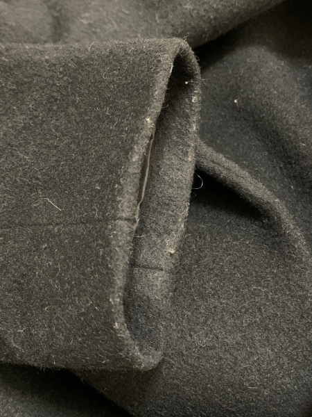 LANVIN en Bleu(ランバンオンブルー) コート サイズ36 S レディース 黒 冬物