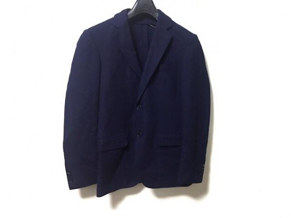 トゥモローランド ジャケット サイズ42 L メンズ美品  ネイビー Ermenegildo Zegna