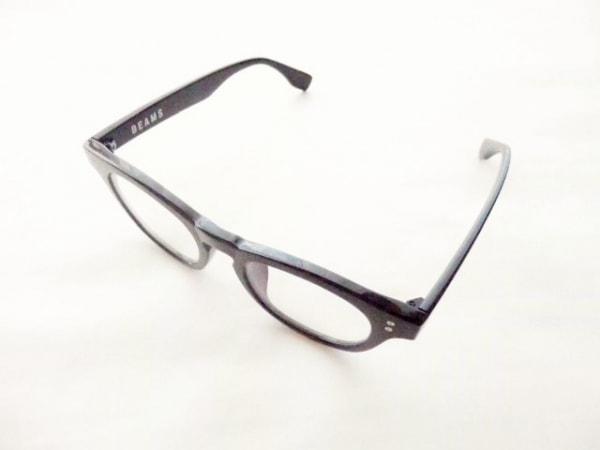 BEAMS(ビームス) メガネ美品  LG1820 クリア×黒 プラスチック