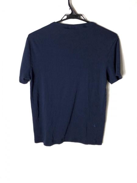 ジースターロゥ 半袖Tシャツ サイズM メンズ美品  ネイビー×グリーン×白