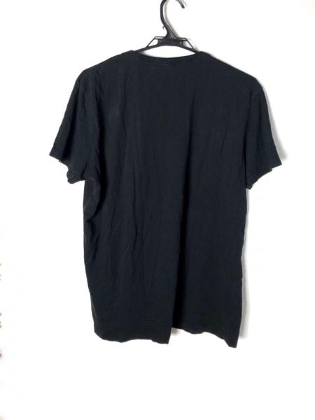 G-STAR RAW(ジースターロゥ) 半袖Tシャツ サイズM メンズ美品  黒×白