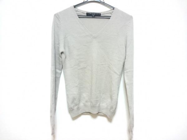 MATERIA(マテリア) 長袖セーター サイズ38 M レディース グレー