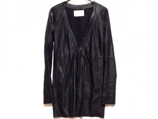 ENCHANTEMENT...?(アンシャントマン) ジャケット サイズ38 M レディース 黒 ロング丈
