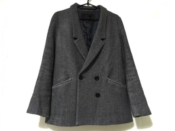 アンタイトル ジャケット サイズ1 S レディース美品  グレー×ダークグレー 冬物